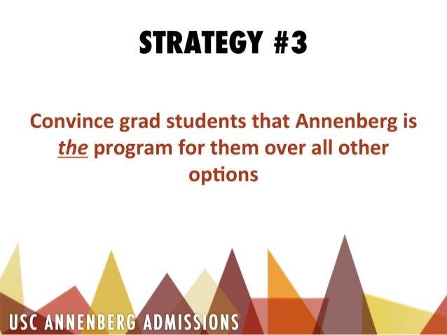 JOUR 450 - Client Pitch Presentation for USC Annenberg Admissions