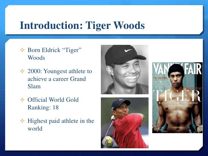Essay about A Rhetorical Criticism of Tiger Woods