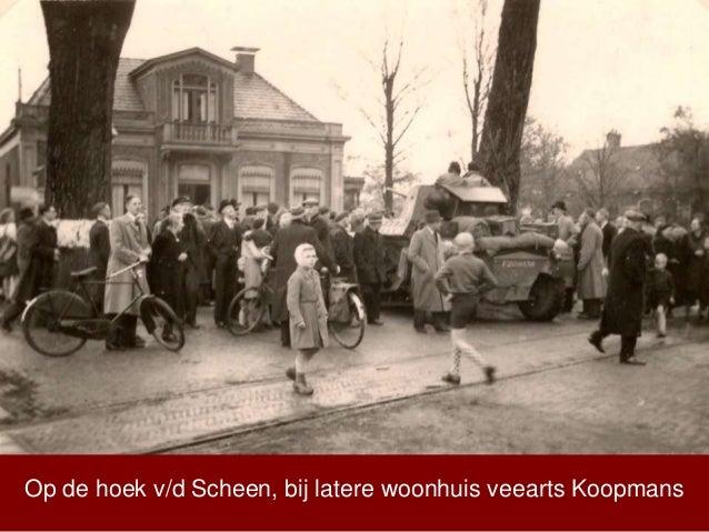 Op de hoek v/d Scheen, bij latere woonhuis veearts Koopmans