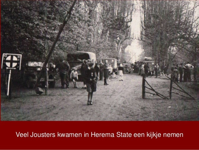 Veel Jousters kwamen in Herema State een kijkje nemen