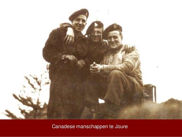 Canadese manschappen te Joure