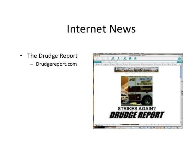 Internet News  • The Drudge Report  – Drudgereport.com