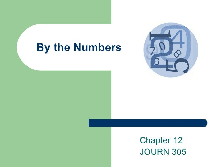 By the Numbers Chapter 12 JOURN 305