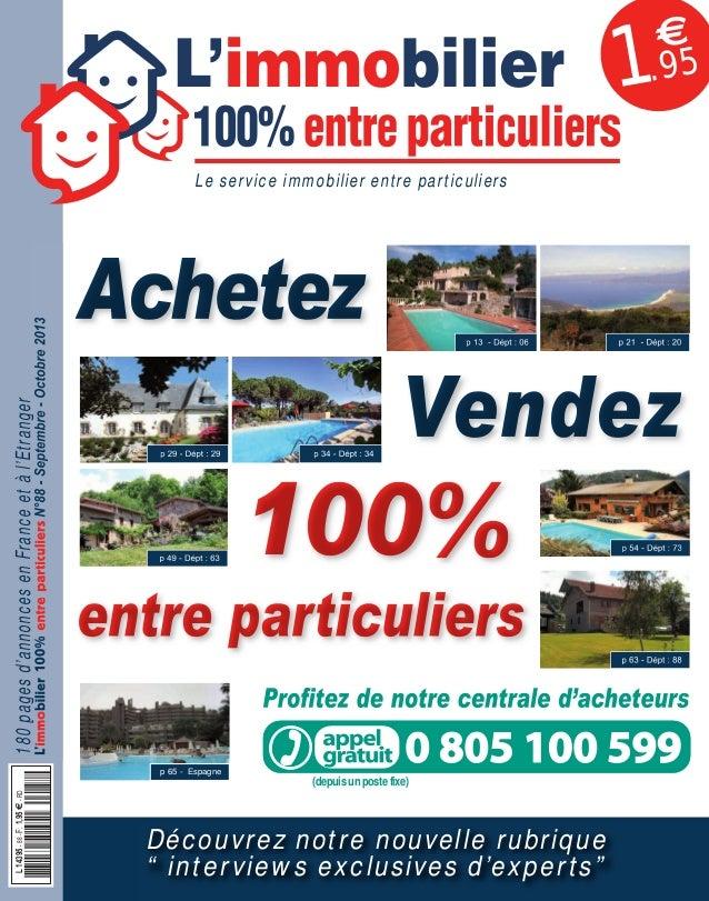 088APLIM_001_002_057APLIM_001_002.qxd 12/08/2013 15:29 Page 1  1  €  .95  Achetez  180 pages d'annonces en France et à l'E...