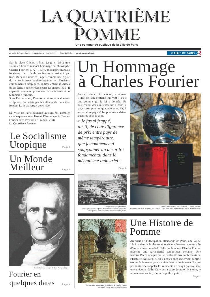 Une commande publique de la Ville de ParisUn projet de Franck Scurti - Inauguration le 10 janvier 2011 - Place de Clichy -...
