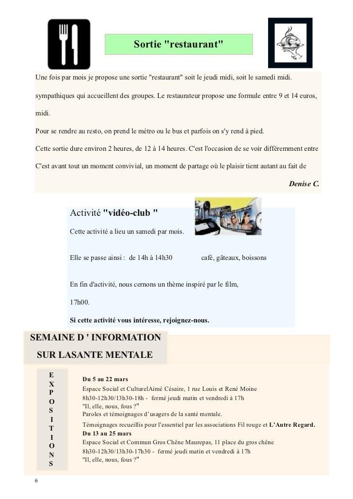 Journal n°51 Janvier 2012 Slide 2