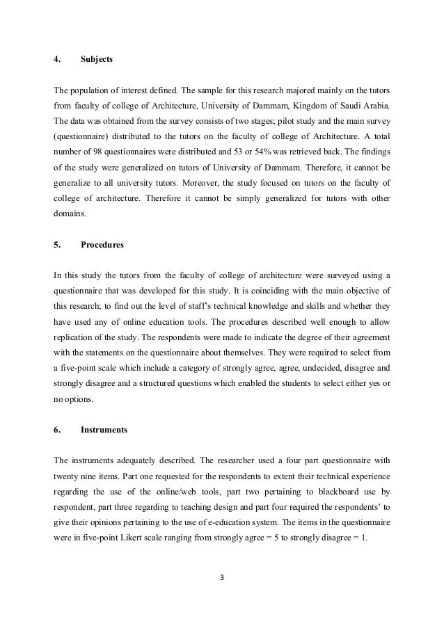 Journal article critique for Science article summary template