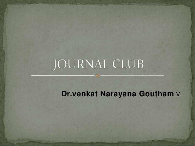 Dr.venkat Narayana Goutham .V