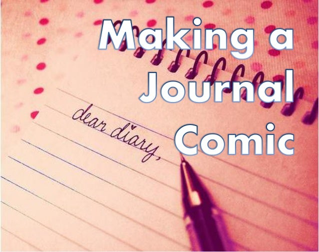 Journal Comics can be about a moment in your day. From James Kochala's webcomic, American Elf