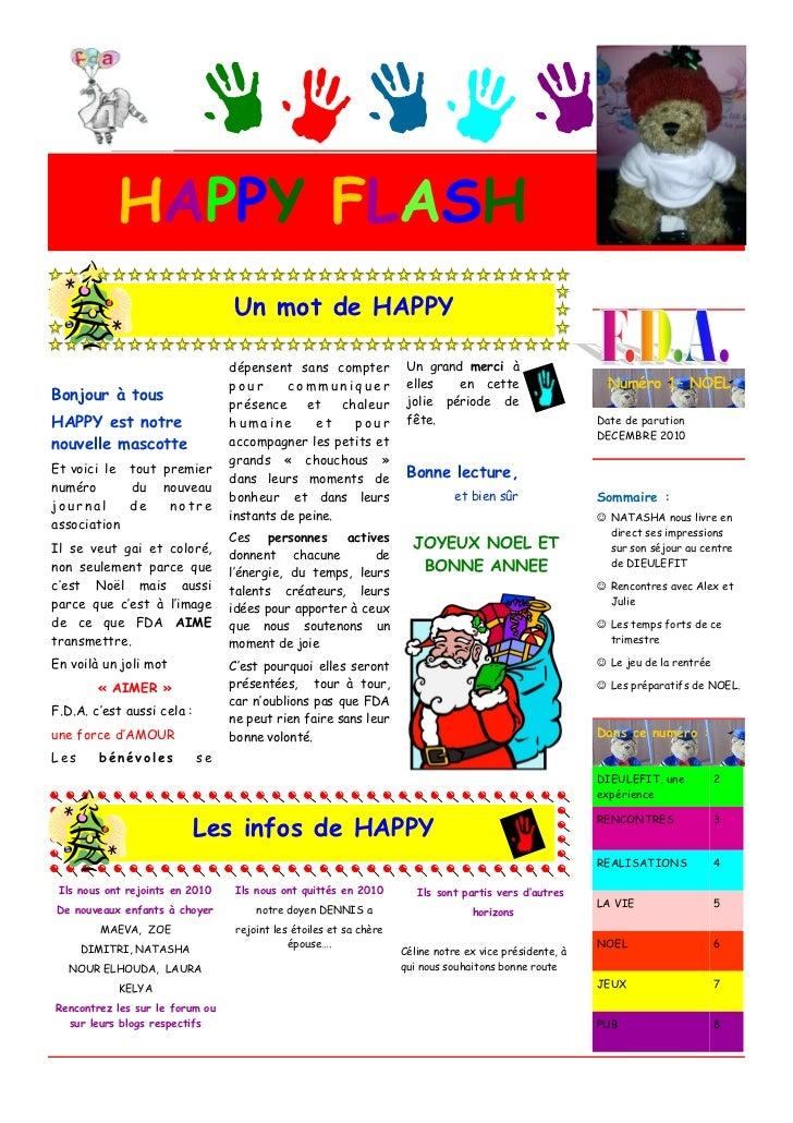 HAPPY FLASH                                 Un mot de HAPPY                                 dépensent sans compter        ...