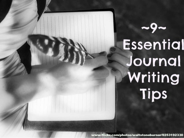 9 Essential Journal Writing Tips