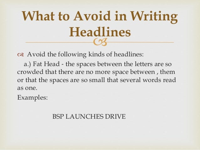 writing headlines Newspaper - headlines and captions powerpoint and accompanying resources for how to construct a headline and a caption munch304 (6) free popular paid resources.