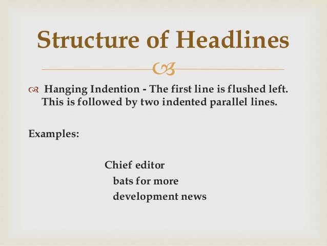 importance of headlines in newspapers