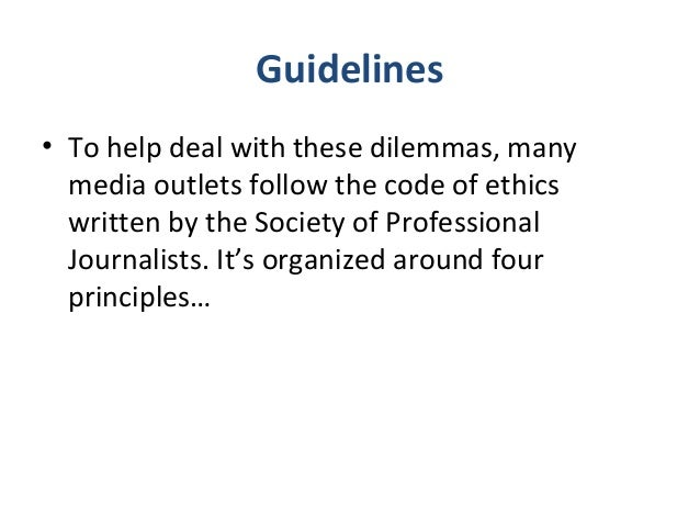 journalism code of ethics Meaa journalist code of ethics respect for truth and the public's right to information are fundamental principles of journalism journalists search, disclose, record, question, entertain, comment and remember.