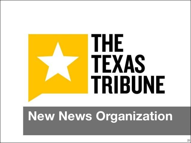 New News Organization !21