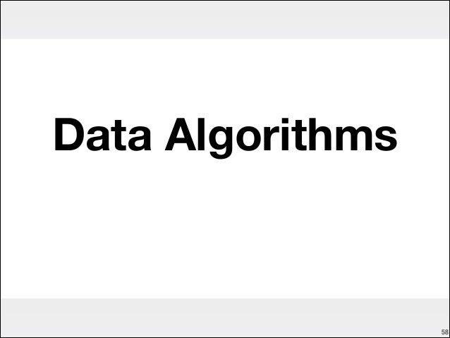 Data Algorithms  !58