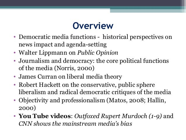 Journalism And Democracy border=