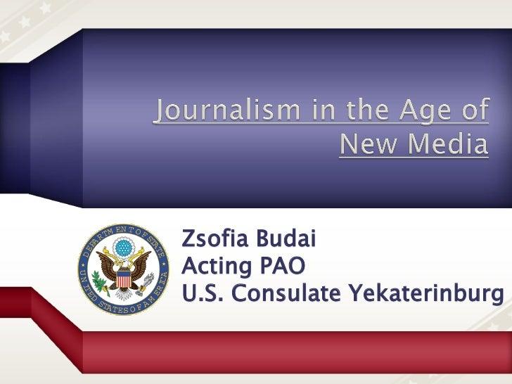Zsofia BudaiActing PAOU.S. Consulate Yekaterinburg
