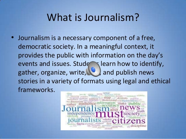Journalism supply and demand 1 samantha kevin skylar miriam 2 what is journalism ccuart Gallery