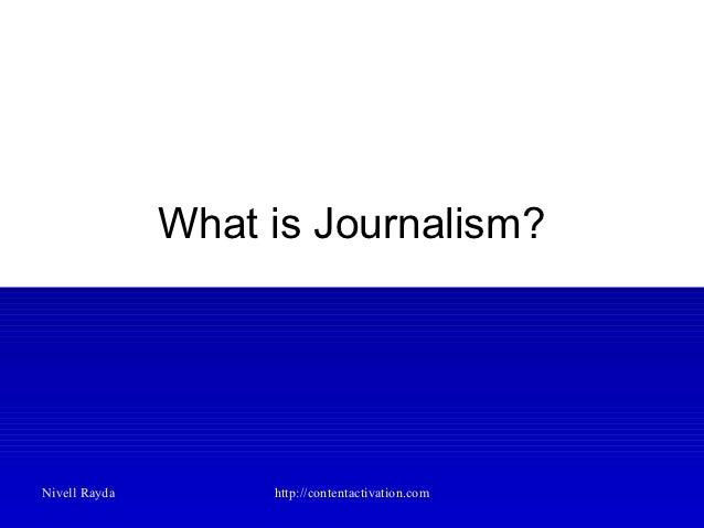 Journalism Training Slide 2