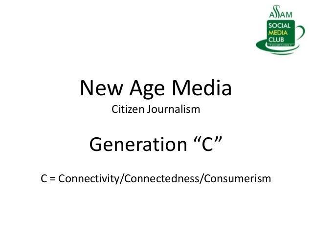 Social Media and Citizen Journalism Slide 2