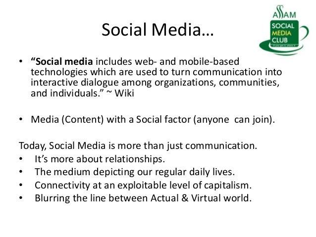 Social Media and Citizen Journalism Slide 3