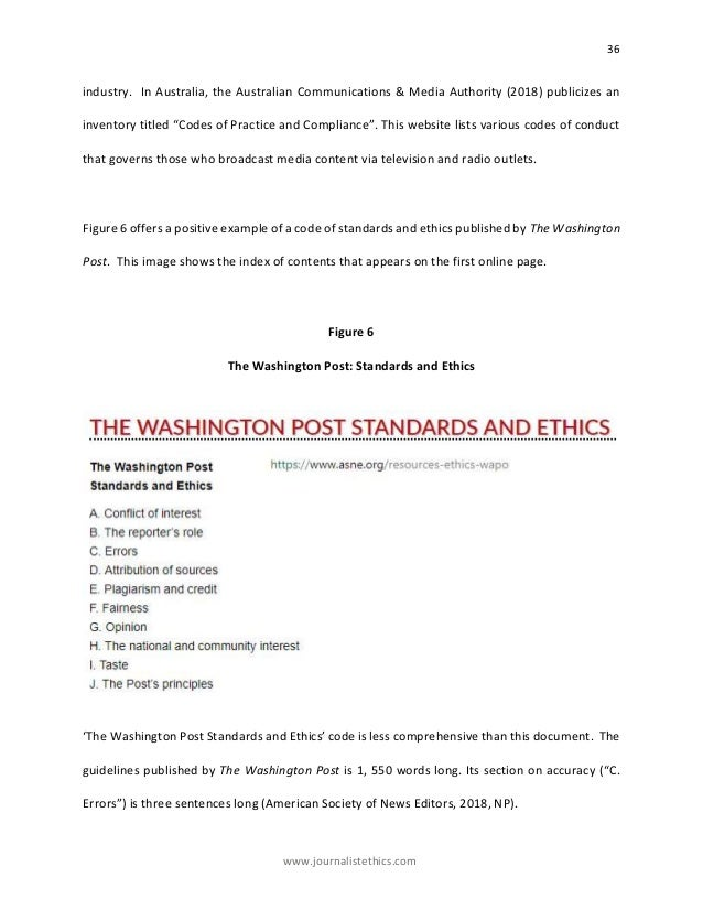 A comprehensive code of ethics template to guide journalists in a pos 40 maxwellsz