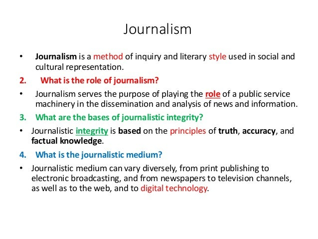 Journalistic principles and ethic questions exam-journalism_(l1)
