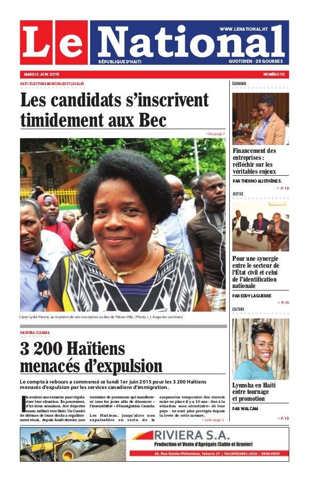 Le compte à rebours a commencé ce lundi 1er juin 2015 pour les 3 200 Haïtiens menacés d'expulsion par les services canadie...