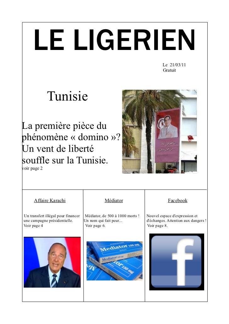 LE LIGERIEN                                                                              Le 21/03/11                      ...