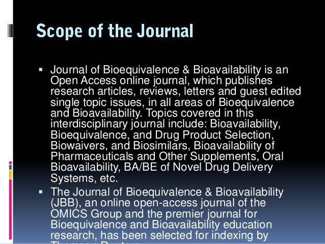 the importance of bioequivalence Rare disease clinical trials: the importance of  this may be especially true for rare disease clinical trials where  phase i-iia clinical trials bioequivalence.