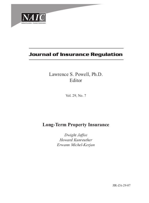 Journal of insurance_regulation