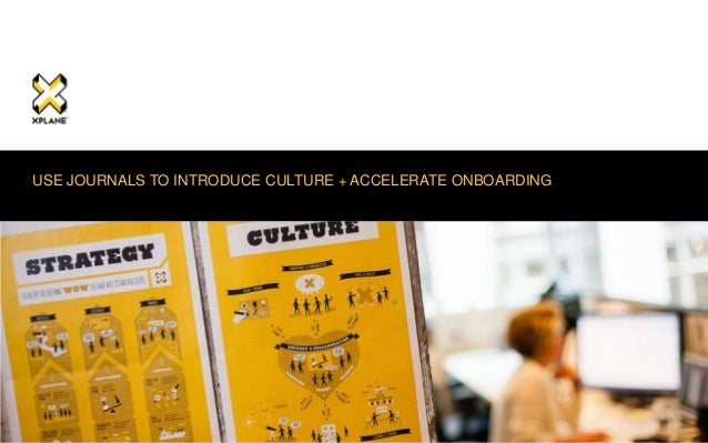 | XPLANE 1| XPLANE 1 USE JOURNALS TO INTRODUCE CULTURE + ACCELERATE ONBOARDING