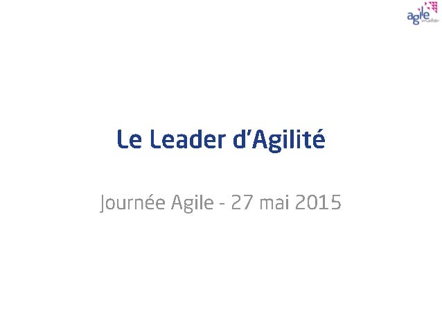     AGILEmaker 2015 - All rights reserved 2