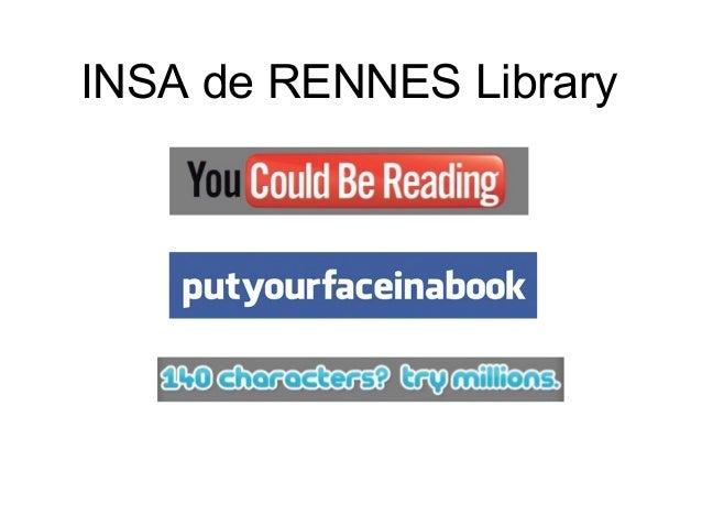 INSA de RENNES Library