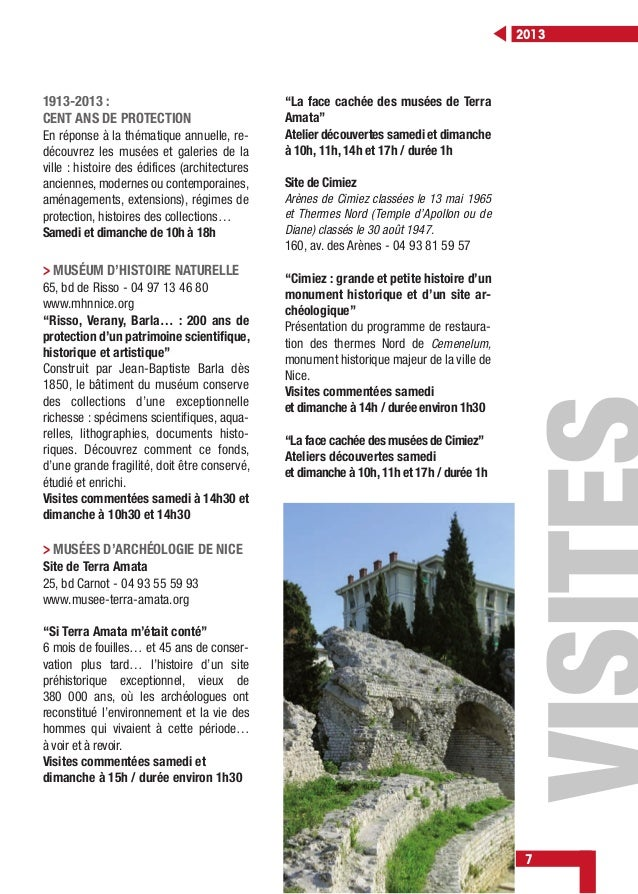 "7 2013 > MUSÉUM D'HISTOIRE NATURELLE 65, bd de Risso - 04 97 13 46 80 www.mhnnice.org ""Risso, Verany, Barla… : 200 ans de ..."