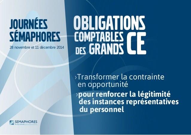 ›Transformer la contrainte en opportunité ›pour renforcer la légitimité des instances représentatives du personnel Obligat...