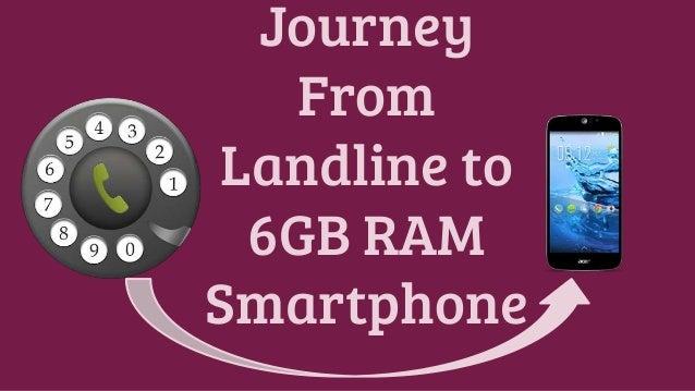 journey from landline phones to 6gb ram smartphone. Black Bedroom Furniture Sets. Home Design Ideas
