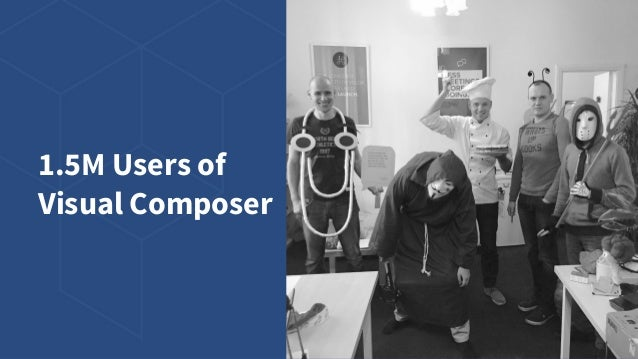 1.5M Users of Visual Composer