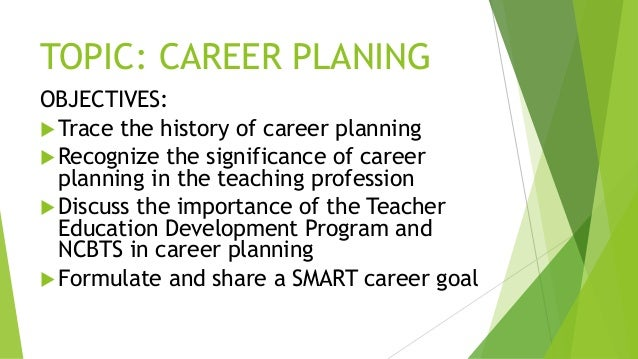 career objective for teaching profession