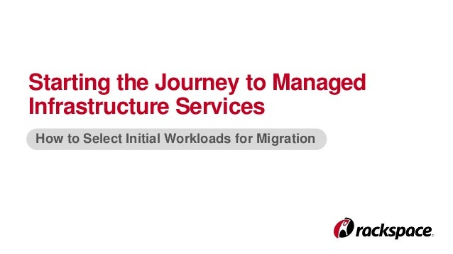Starting the Journey to Managed Infrastructure Services