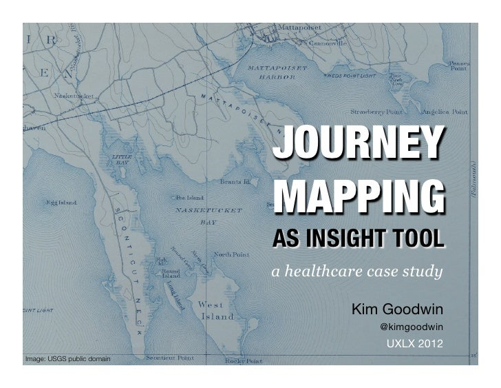 JOURNEY !                             MAPPING!                             AS INSIGHT TOOL                             a h...