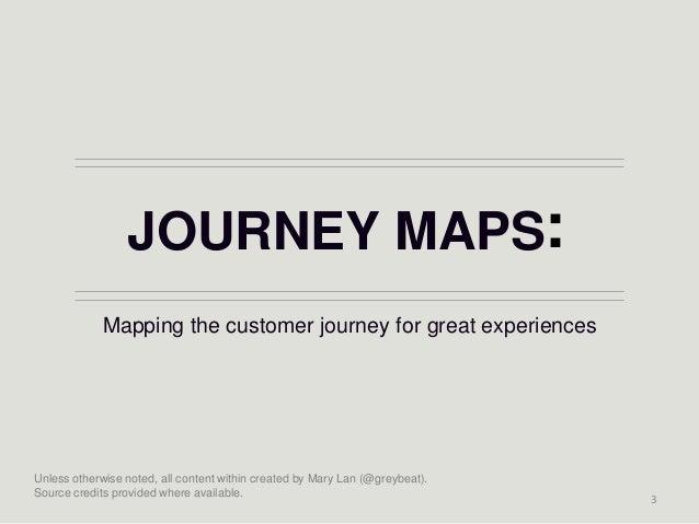Journey maps Slide 3