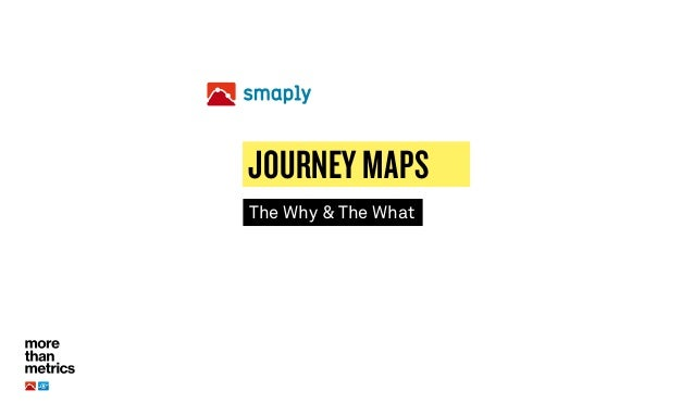 The Why & The What JOURNEY MAPS