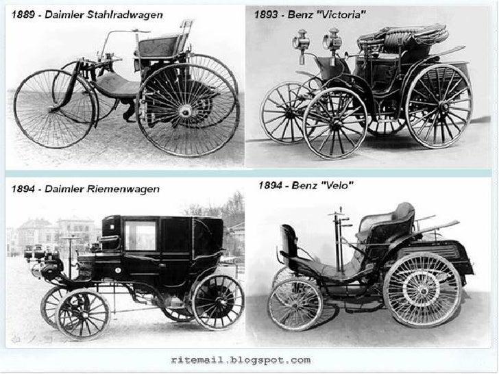 Evolution of Mercedes - Benz Slide 2