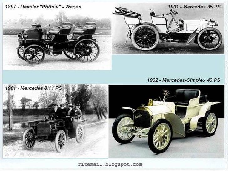 Evolution of Mercedes - Benz Slide 3
