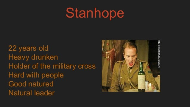 stanhope is the hero in journeys Is stanhope the hero of journey's end explore the ways in which sheriff presents the character of stanhope how is the dear young boy still drinking like a fish, as usual.