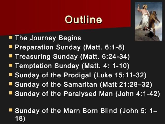 Journey through the Sundays of Lent Slide 2