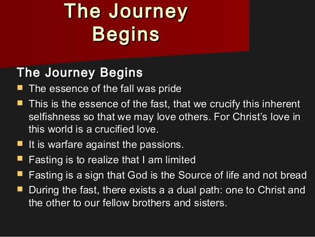 Journey through the Sundays of Lent Slide 3