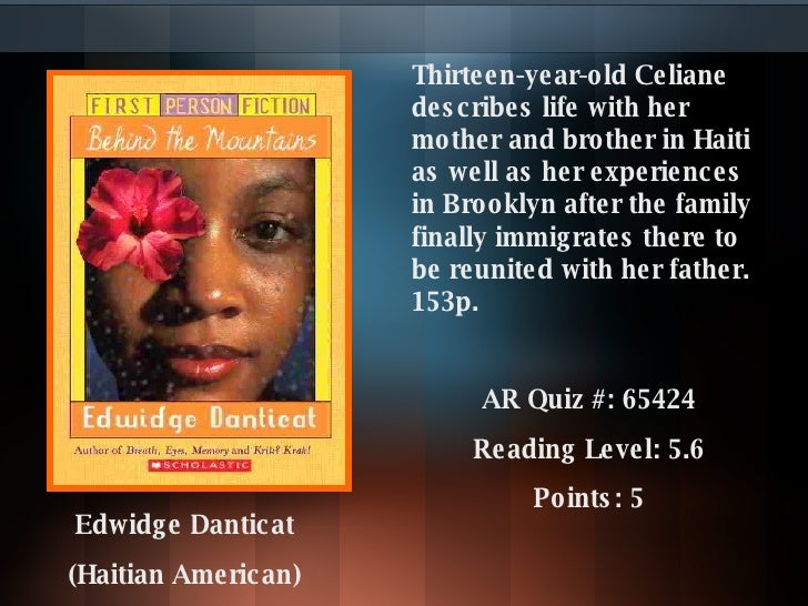 Thirteen-year-old Celiane describes life with her mother and brother in Haiti as well as her experiences in Brooklyn after...